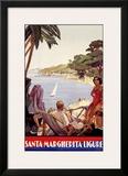 Santa Marguerita Framed Giclee Print by  Migliorati