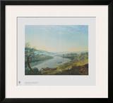 The Elbe near Blasewitz upsteam from Dresden Prints by Anton Graff