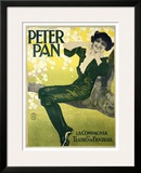 Peter Pan Framed Giclee Print