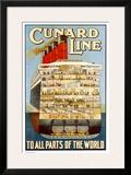 RMS. Aquitania Prints