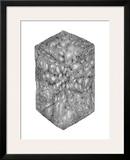 Abstract Black Hexagon Room Poster by Ryuichirou Motomura