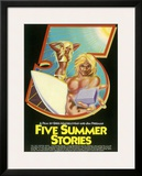 Five Summers Stories Surf Framed Giclee Print