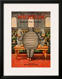 Michelin, Tire Instruction Framed Giclee Print