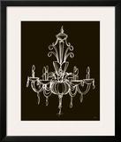 Elegant Chandelier II Print by Ethan Harper
