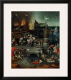 The Temptation of St. Anthony, Central Panel Poster by Hieronymus Bosch