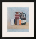 Still Life with Jug and Bottle Prints by Giorgio Morandi