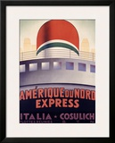 Amerique du Nord Framed Giclee Print by  Patrone