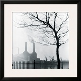 Battersea Power Station Framed Giclee Print by Henry Grant