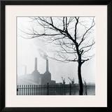 Battersea Power Station Framed Giclee Print by Henry Grant