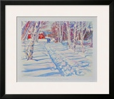 Landscape in Winter Print by Dodge Mac Knight