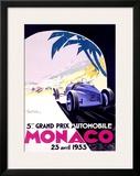 Monaco, 1933 Framed Giclee Print by Geo Ham