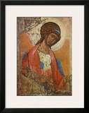 Archangel Michael Prints by Andrei Rubljew