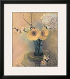 Poppies and Hydrangea Prints by Susan Friedman