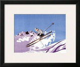 Barcelonnette Framed Giclee Print by  Michel