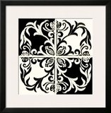 Damask Silhoute I Posters by Judy Shelby