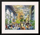 Luncheon at Musee d'Orsay Print by Michael Leu