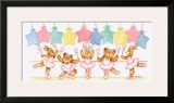 Pastel Ballet Class Poster by Marnie Bishop Elmer