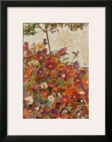 Floral Field Poster by Egon Schiele