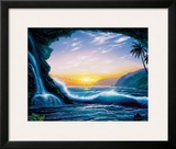 Ocean Dream, Hawaii Framed Giclee Print by Steve Sundram