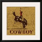 Rodeo Cowboy Poster por Peter Horjus