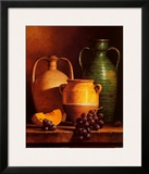 Jugs on a Ledge Print by Loran Speck
