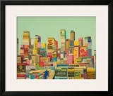 Better Buy Buick Framed Giclee Print by Andy Burgess