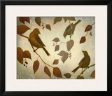 Bird Song I Prints by Deac Mong