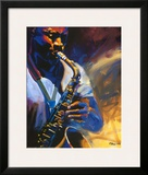 Bourban Street Blues Prints by Robert Brasher
