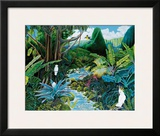 Iao Valley, Maui, Hawaii Framed Giclee Print by Ari Vanderschoot