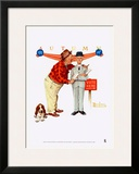 Final Speech Print by Norman Rockwell