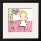 Pink Ballerina Prints by Carla Sonheim