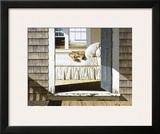 Home Again Framed Giclee Print by Zhen-Huan Lu