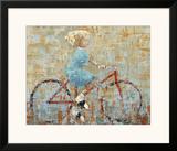 Bicycle Prints by Rebecca Kinkead