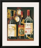 Wine Bottles I Print by Mariapia & Marinella Angelini
