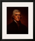 Thomas Jefferson Posters by Rembrandt Peale
