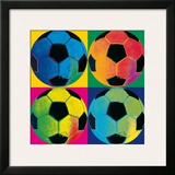 Ball Four: Soccer Posters