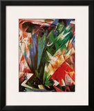 Bird Posters by Franz Marc