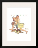 Hasty Retreat Posters by Norman Rockwell