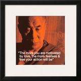 Dalai Lama: Fearless & Free Print