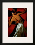 Carmine Cafe Prints by Bill Brauer
