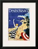 Deutschland, An der Ostsee Print by Leonhard F. W. Fries