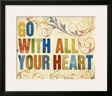 Go With All Your Heart Art by Elizabeth Medley