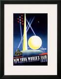 New York World's Fair, World of Tomorrow Art by Joseph Binder