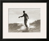 Waikiki, 1931 Framed Giclee Print by Tom Blake