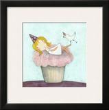 Cupcake Fairy Print by Carla Sonheim