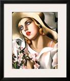 Portrait Fille Posters by Tamara de Lempicka