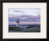 Brant Point Light Framed Giclee Print by  Rezendes