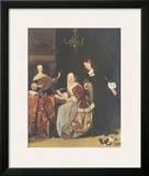 The Friends of Music Prints by Gabriel Metsu