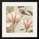 Magnolia Collage I Prints by Pamela Gladding