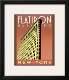 Flatiron Building Print by Brian James